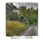 Dirt Roads Shower Curtain