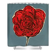 Dirty Rose Shower Curtain