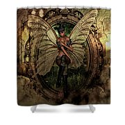 Disappointed Fairy 2 Shower Curtain