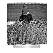 Discovery Bw Shower Curtain