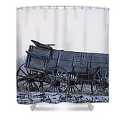 Discovery From The Past Shower Curtain