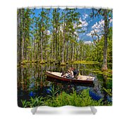 Discovery In A Cypress Swamp Shower Curtain