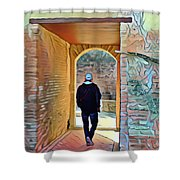 Discovery In Grenada - Alhambra Shower Curtain