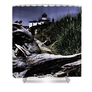 Discovery Park Lighthouse Shower Curtain