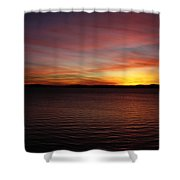 Discovery Park Sunset 6 Shower Curtain