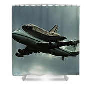 Discovery Piggyback Shower Curtain