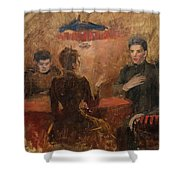 Discussion Shower Curtain