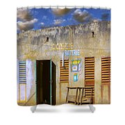 Dish Network Shower Curtain