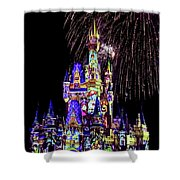 Disney 14 Shower Curtain