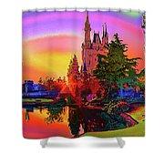 Disney Fantasy Art Shower Curtain
