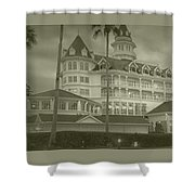 Disney World The Grand Floridian Resort Vintage Shower Curtain
