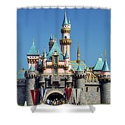 Disneyland Castle Shower Curtain