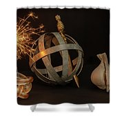 Disparate Objects 2 A Still Life Shower Curtain