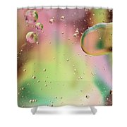 Dispersal Shower Curtain