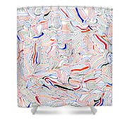 Displacement Shower Curtain