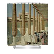 Display Of Trophies Shower Curtain