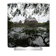 Distant Everest Shower Curtain