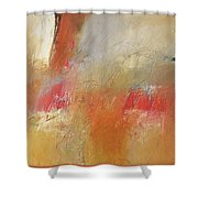Distant Fire Shower Curtain