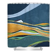 Distant House Shower Curtain