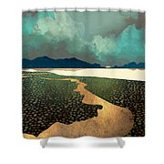 Distant Land Shower Curtain
