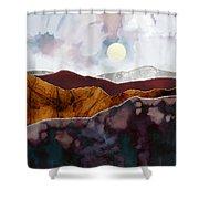 Distant Light Shower Curtain