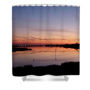 Distant Lights Shower Curtain
