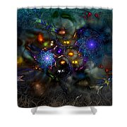 Distant Realms Of The Imagination Shower Curtain