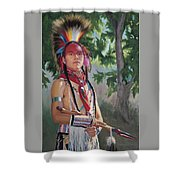 Distant Song Shower Curtain