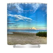 Distant Thunderhead Shower Curtain