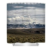 Distater Peak Road -february-0723-r1 Shower Curtain