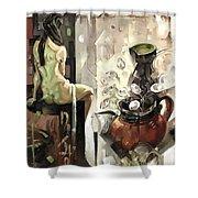 Distill Life Shower Curtain