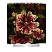 Distinctive Blossoms Shower Curtain