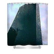 Distopia Shower Curtain