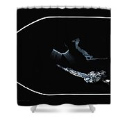Distortion Of The Senses Shower Curtain