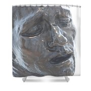 Distressed Shower Curtain