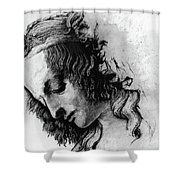Districhi Di Magdalene Shower Curtain