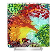 District Tribute Shower Curtain