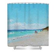 Ditch Plains Beach Montauk Hamptons Ny Shower Curtain