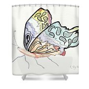 Diva Shower Curtain by Kathryn Riley Parker