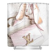 Diva Style Shower Curtain