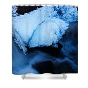 Dive In To Life Shower Curtain