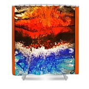 Diverging Shower Curtain