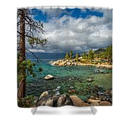 Divers Cove At Lake Tahoe Shower Curtain
