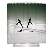 Divide And Conquer Shower Curtain