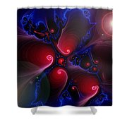 Divided Day Shower Curtain