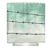 Dividers Shower Curtain