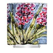 Divine Blooms-21057 Shower Curtain