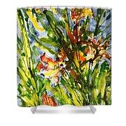 Divine Blooms-21061 Shower Curtain