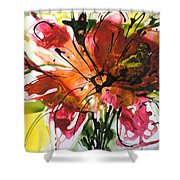 Divine Blooms-21082 Shower Curtain