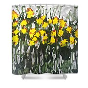 Divine Blooms-21085 Shower Curtain